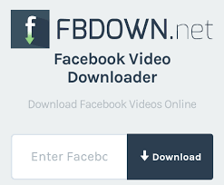 How To Download Facebook Videos Using Fbdown.net