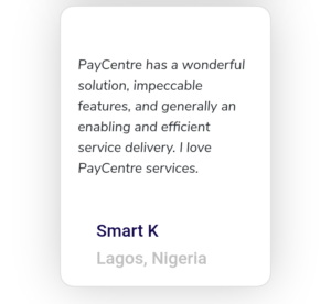 Paycentre review