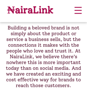 All about Nairalink